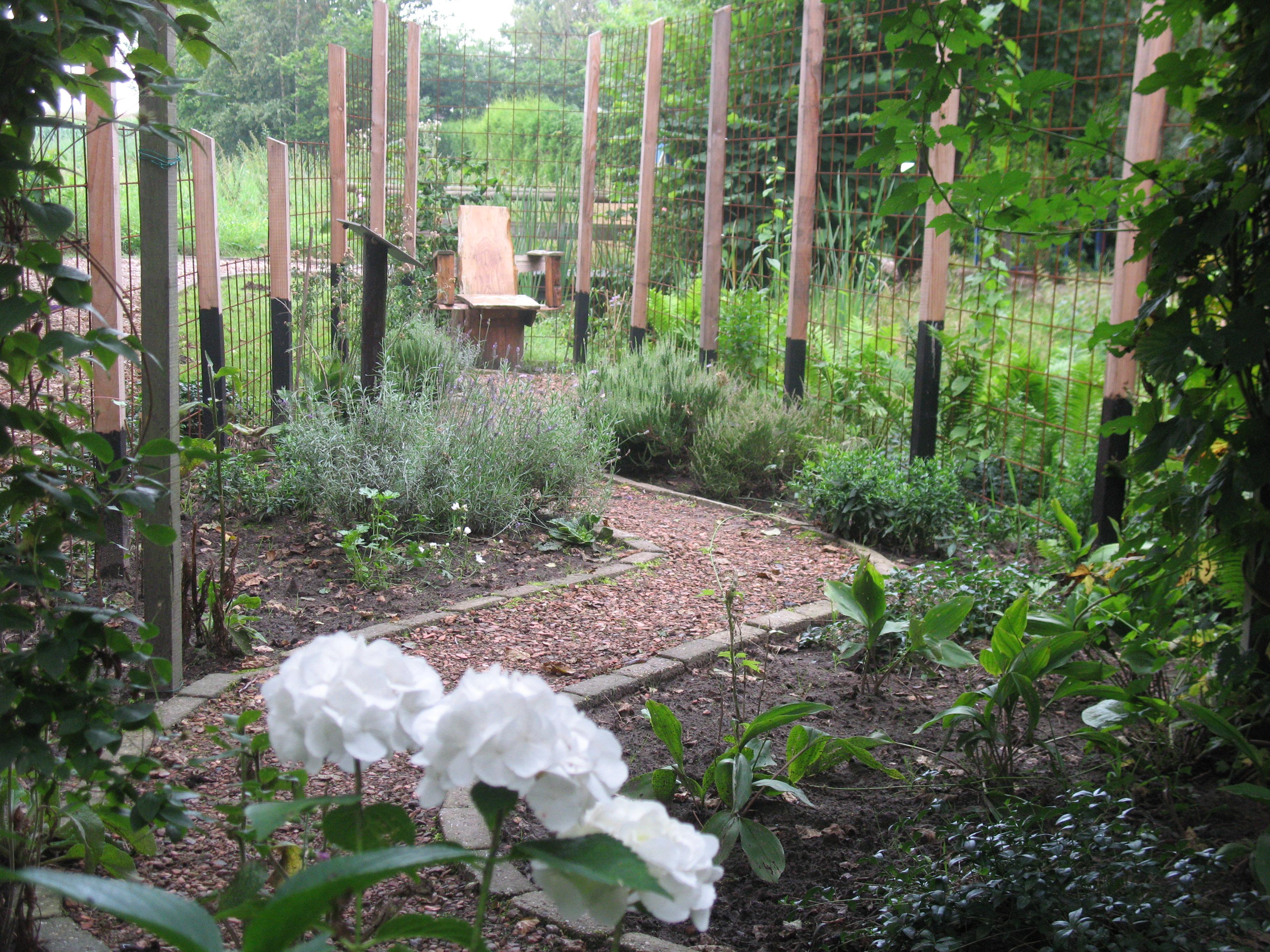Helende tuinen bezoeken